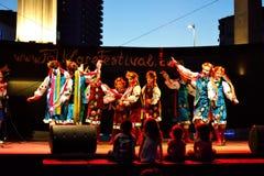 Девушки украинца танцев Стоковые Фото