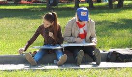 Девушки чертежа стоковое фото rf