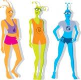 Девушки чужеземца Стоковые Изображения RF