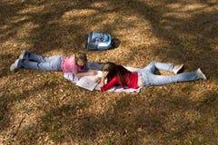 Девушки школы стоковые изображения rf