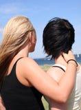 девушки 2 стоковая фотография rf