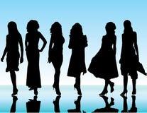 Девушки стоковая фотография