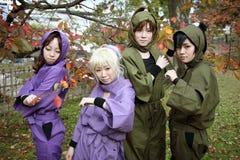 Девушки Cosplay молодые японские Стоковое Фото