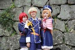 Девушки Cosplay молодые японские Стоковые Фото