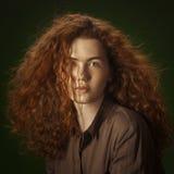 Девушки Redhead Стоковые Фотографии RF