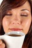 дегустация кофе Стоковые Изображения RF