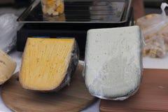 Дегустация сыра Стоковое фото RF