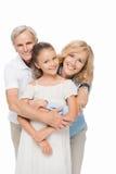 Деды с обнимать внука Стоковые Фотографии RF