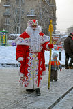 Дед Мороз с белой бородой, Кристмас, Стоковые Фото