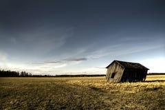 дезертированная ая дом стоковое фото
