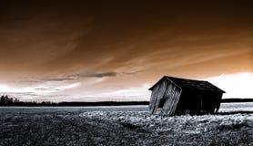 дезертированная ая дом Стоковое Изображение