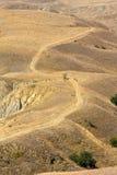 дезертированная дорога земли Стоковое Изображение RF