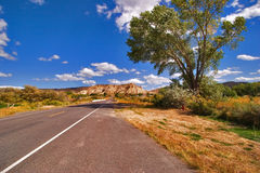 дезертированная дорога Стоковое Фото