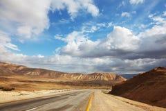 дезертированная дорога Стоковая Фотография