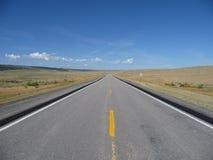 дезертированная дорога Стоковые Фото