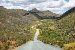 Дезертированная дорога в заповедник Cederberg Стоковая Фотография