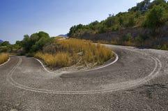 Дезертированная дорога Стоковое фото RF