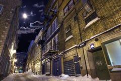 дезертированная улица Стоковое Фото