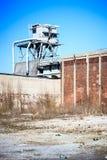 Дезертированная фабрика Стоковое фото RF