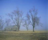 Дезертированная дом Стоковое Изображение RF