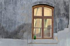 Дезертированное окно Стоковое Изображение