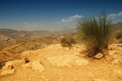 дезертированный ландшафт kurdistan северный Стоковые Изображения RF