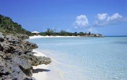 дезертированный остров Стоковое фото RF
