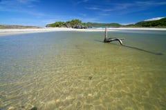 Дезертированный пляж Стоковые Фотографии RF