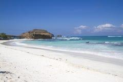 Дезертированный пляж Стоковая Фотография RF