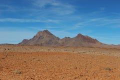 Дезертируйте горы Стоковое Фото