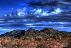 дезертируйте горы Стоковое Изображение