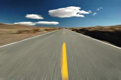 дезертируйте дорогу Стоковое Фото