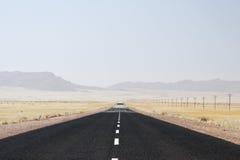 дезертируйте дорогу Стоковое фото RF