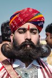 Дезертируйте фестиваль, 2018, Jaisalmer, Раджастхан, Индия Стоковое фото RF