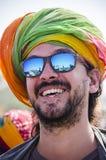 Дезертируйте фестиваль, 2018, Jaisalmer, Раджастхан, Индия Стоковая Фотография