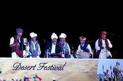 Дезертируйте фестиваль, 2018, Jaisalmer, Раджастхан, Индия стоковое изображение