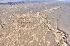 дезертируйте nazca Перу Стоковое Изображение RF
