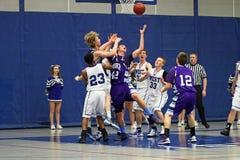 Действие баскетбола Стоковое Изображение RF