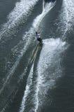 действие более waterskier Стоковые Фотографии RF