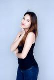 Действие тайской дамы сексуальное Стоковые Фотографии RF
