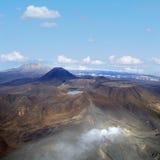 Действующие вулканы стоковое фото rf