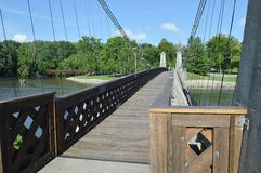 Декан висячий мост генерала Стоковая Фотография