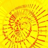 Декоративная абстрактная предпосылка с спиральным элементом Иллюстрация вектора