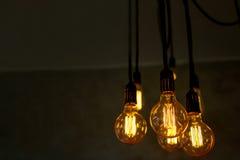 Декоративная античная электрическая лампочка Стоковые Изображения RF