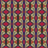 Декоративная безшовная картина для домашнего оформления Текстура предпосылки вектора Стоковые Фотографии RF