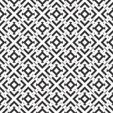Декоративная безшовная флористическая геометрическая черная & белая предпосылка картины стоковые фото