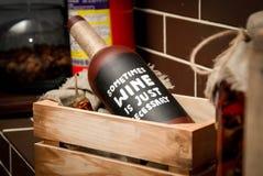 Декоративная бутылка Стоковая Фотография RF