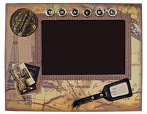 Декоративная винтажная рамка фото для фото перемещения Стоковая Фотография RF