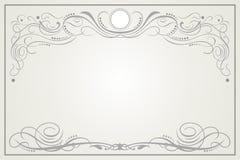декоративная виньетка Стоковая Фотография
