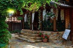 декоративная дом цветков Стоковое Изображение RF